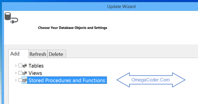 Entity Framework Stored Procedure Instructions | OmegaMan's